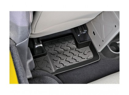 STOCK TO CLEAR:  Rear Floor Liner for Jeep 07-10 Wrangler 2-dr
