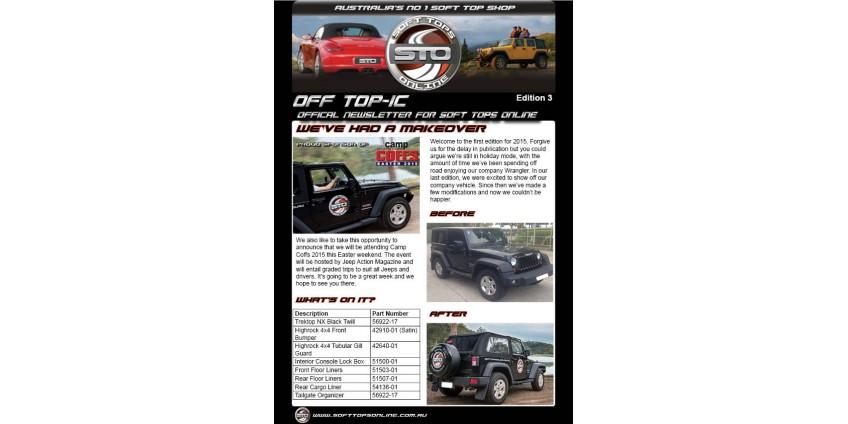 STO Newsletter Edition 3