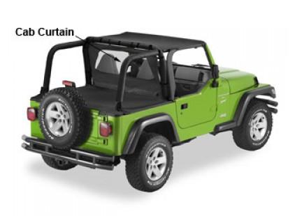 Jeep Wrangler TJ 1996-02 Pavement Ends Cab Curtain