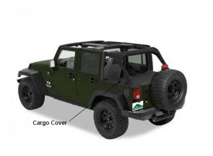 Jeep Wrangler JK 2007-15 Four Door Pavement Ends Cargo Cover