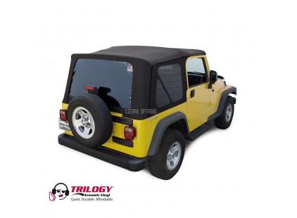 2003-2006 Jeep TJ Trilogy Acoustic Vinyl Soft Top, Sierra Off-road