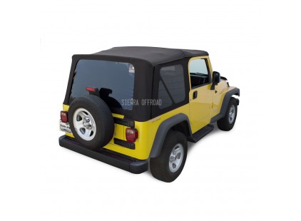 2003-2006 Jeep TJ Sailcloth Vinyl Soft Top, Sierra Off-road