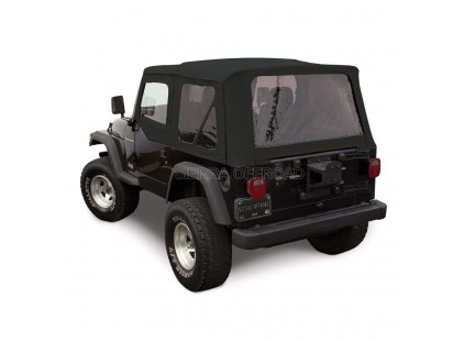 1997-2002 Jeep TJ Denim Vinyl Soft Top, Sierra Off-road