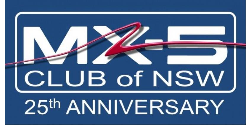 MX-5 Club of NSW Celebrates 25 Years