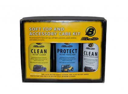 Soft Top Cleaning Kit: Bestop Soft Top & Accessory Care Kit