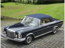 Mercedes 1963-72 SE Convertible Top & Headliner, Stayfast Cloth