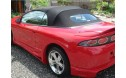 Mitsubishi Eclipse 1996-99 ConvertibleTop, Sun-Fast Cloth, Glass Window
