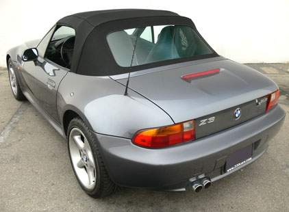 BMW Z3 1996-02 Twillfast Cloth Top with Tension Cables