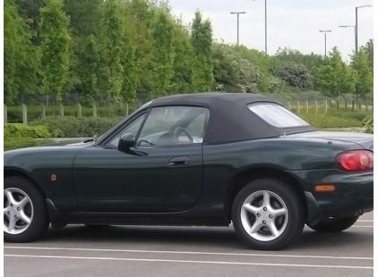 Mazda MX-5 1990-97 Original Style ClothTop w/Zippered Plastic Window - No Rain Rail
