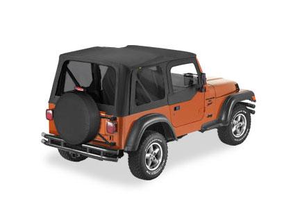 Jeep Wrangler TJ 1996-02 Bestop Replace-A-Top w/Half Door Skins & Tinted Windows
