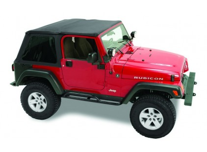Jeep Soft Top: 1997-06 Wrangler TJ Pavement Ends Sprint Top w/Tinted Windows