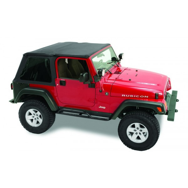 jeep soft top 1997 06 wrangler tj pavement ends sprint top w tinted windows. Black Bedroom Furniture Sets. Home Design Ideas