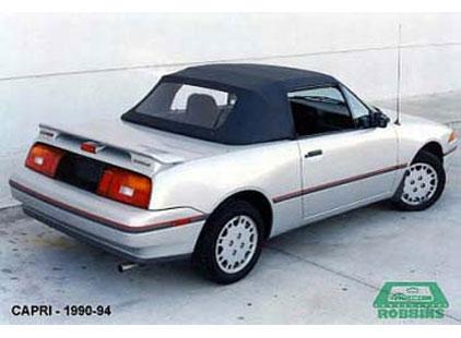 Ford Capri 1990-93 Original Style Vinyl Top w/Plastic Window