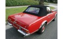 Mercedes 1964-72 SL Convertible Top, German Cloth