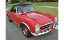 Mercedes 1964-72 SL Convertible Top, Stayfast Cloth