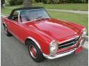 Mercedes 1964-72 SL Bow Straps