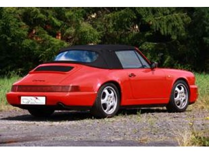 STOCK CLEARANCE: Porsche 911 1986-1994 Twillfast Cloth Top with Plastic Window