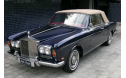 Rolls Royce 1967-92 Silver Shadow and Corniche, British Everflex Vinyl Top with Plastic Window
