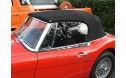 Austin Healey BJ8 Top, 1963-68 Crush Grain Vinyl Top with Zippered Plastic Window