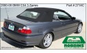 BMW E64 6-Series 2005-2009, Stayfast Cloth Top, No window
