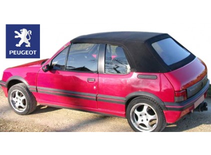 Peugeot 205 1984-92 Vinyl Top and Plastic Window