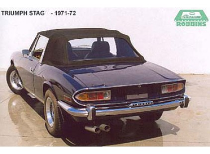Triumph Stag 1973-77 Convertible Top, Stayfast cloth