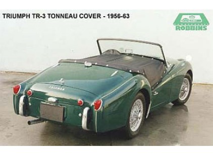 Triumph TR3A, TR3B 1957-1963 Tonneau Cover (RHD), Stayfast Cloth