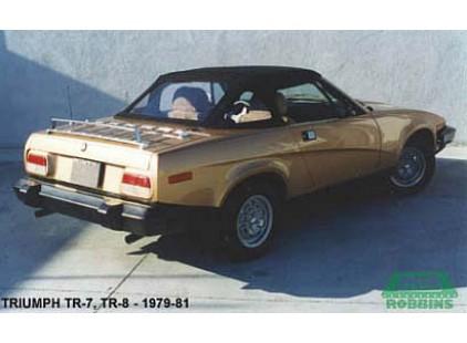 Triumph TR7, TR8 1979-81 Convertible Top, British Vinyl