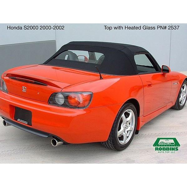 Honda S2000 2000-2001 Convertible Top, Stayfast Cloth